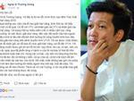 Trường Giang lên tiếng xin lỗi sau màn 'cướp sóng' cầu hôn Nhã Phương tại Mai Vàng 2017