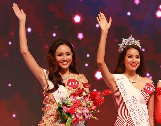 Dàn Á hậu 1 cuộc thi Hoa hậu Hoàn vũ Việt Nam: Người tiến bước lừng lẫy, kẻ bỏ dở cuộc chơi-6