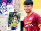 Lộ ảnh thuở bé cực đáng yêu của hậu vệ hot nhất đội tuyển U23 Việt Nam Bùi Tiến Dũng