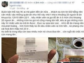 Thực hư 1 nhà hàng ở Đà Nẵng bị tố 'chặt chém'