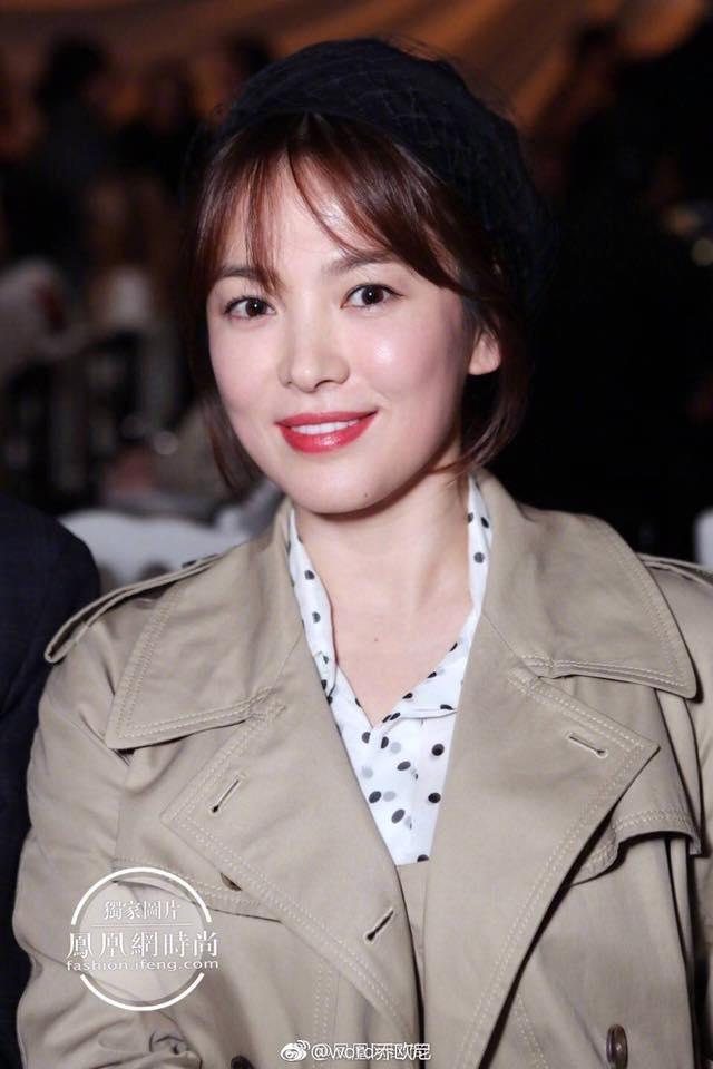 Song Hye Kyo giản dị vẫn đẹp hết nấc tại Paris-1