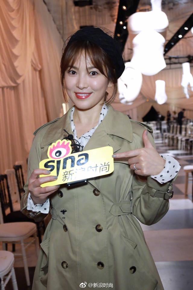 Song Hye Kyo giản dị vẫn đẹp hết nấc tại Paris-2