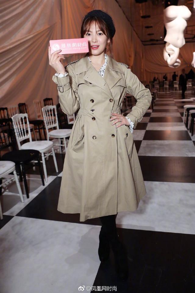Song Hye Kyo giản dị vẫn đẹp hết nấc tại Paris-3