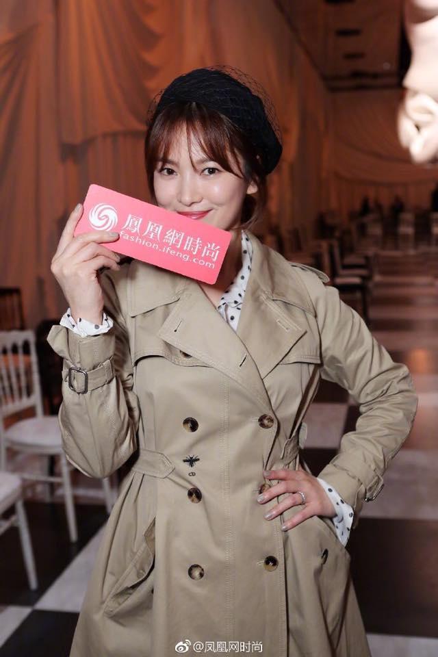 Song Hye Kyo giản dị vẫn đẹp hết nấc tại Paris-4