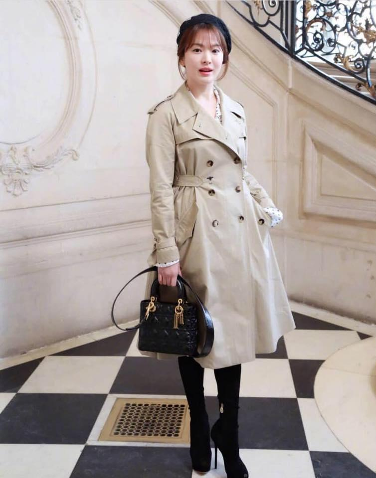 Song Hye Kyo giản dị vẫn đẹp hết nấc tại Paris-6