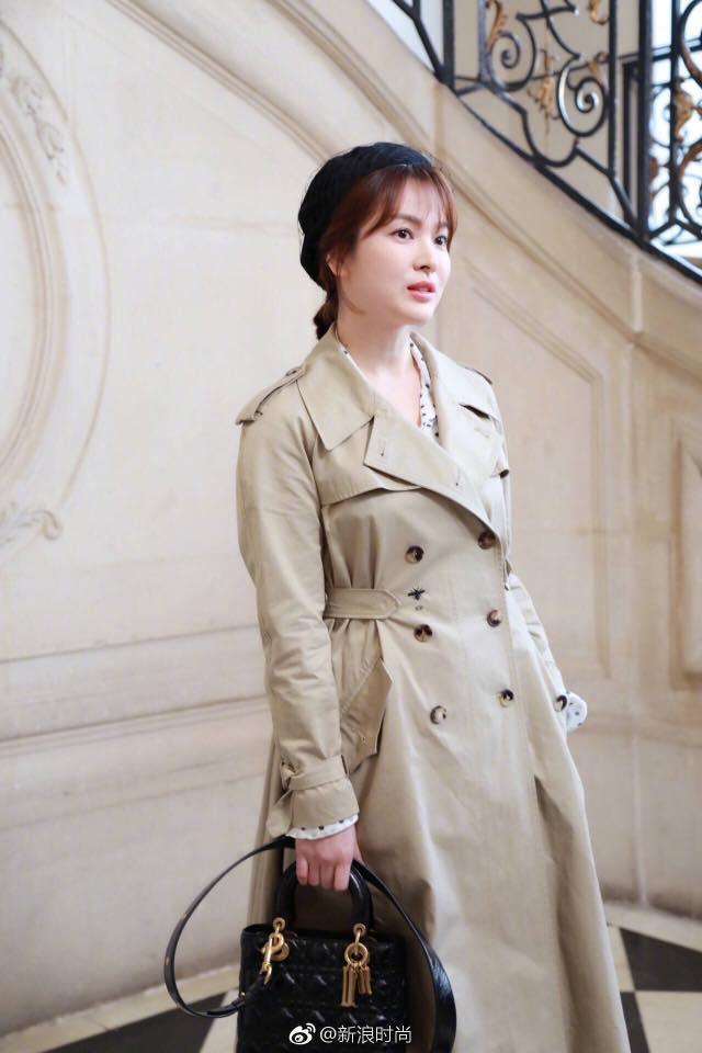 Song Hye Kyo giản dị vẫn đẹp hết nấc tại Paris-7