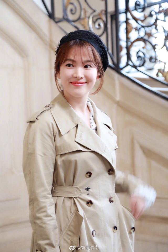 Song Hye Kyo giản dị vẫn đẹp hết nấc tại Paris-8