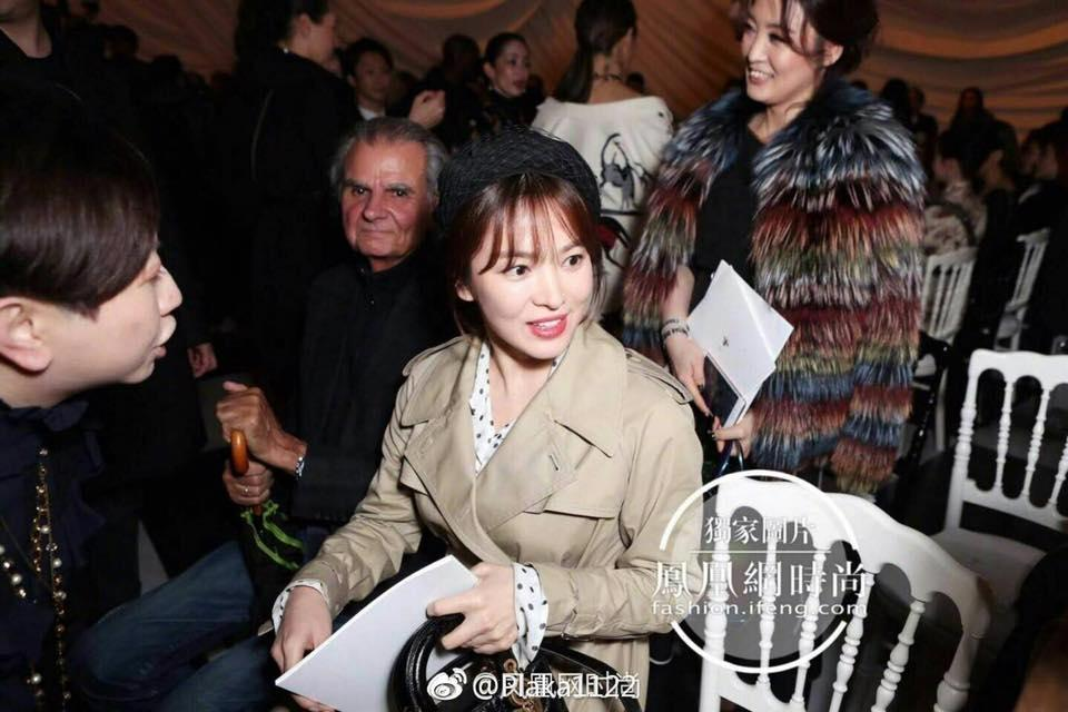 Song Hye Kyo giản dị vẫn đẹp hết nấc tại Paris-9