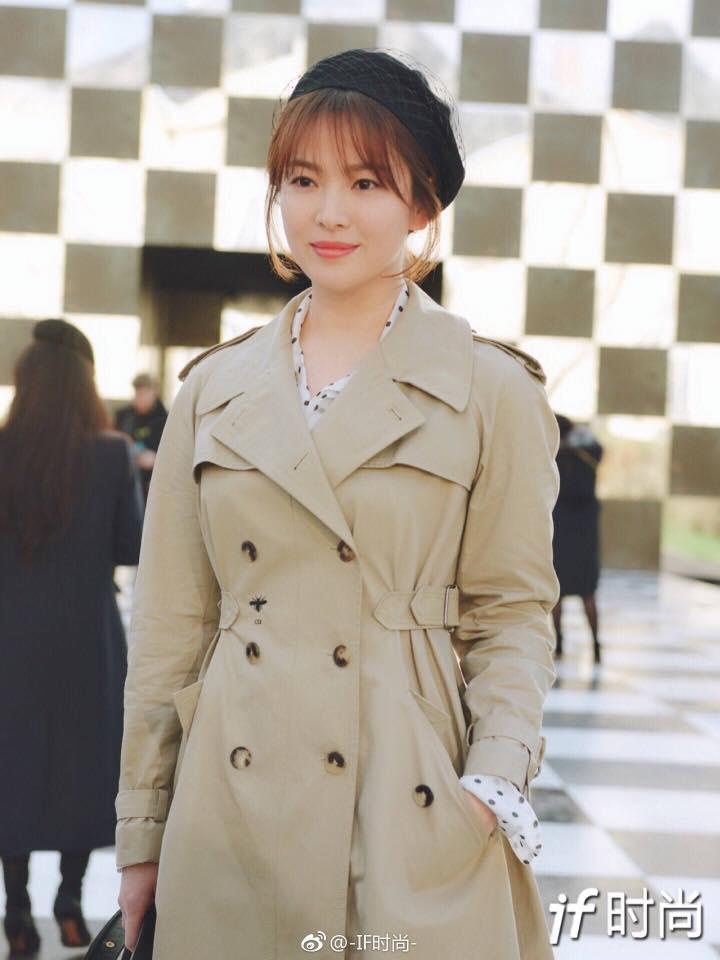 Song Hye Kyo giản dị vẫn đẹp hết nấc tại Paris-12