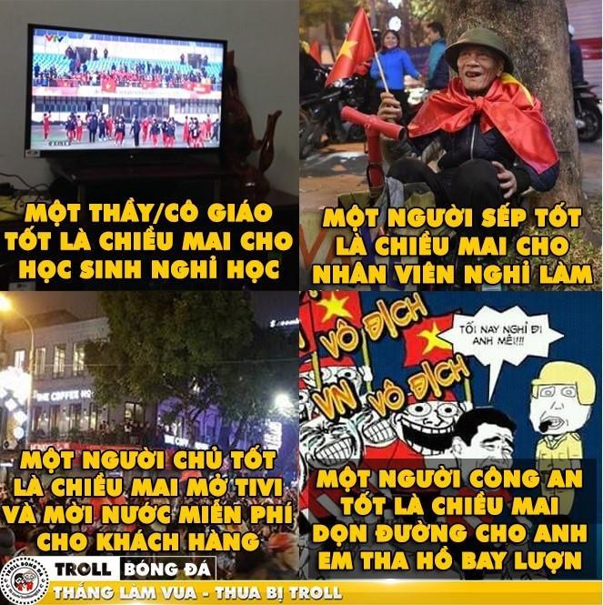 Dân mạng mơ về chiến thắng của U23 Việt Nam trong trận bán kết-5