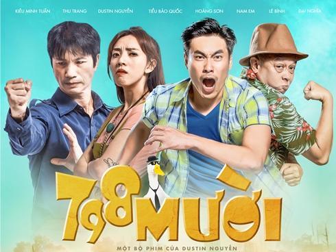 Kiều Minh Tuấn và 'đồng bọn' quậy tưng bừng rạp chiếu phim dịp Tết