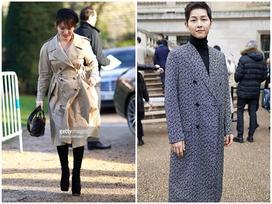 Song Hye Kyo - Song Joong Ki 'chiếm sóng' bảng thời trang sao Hàn tuần qua