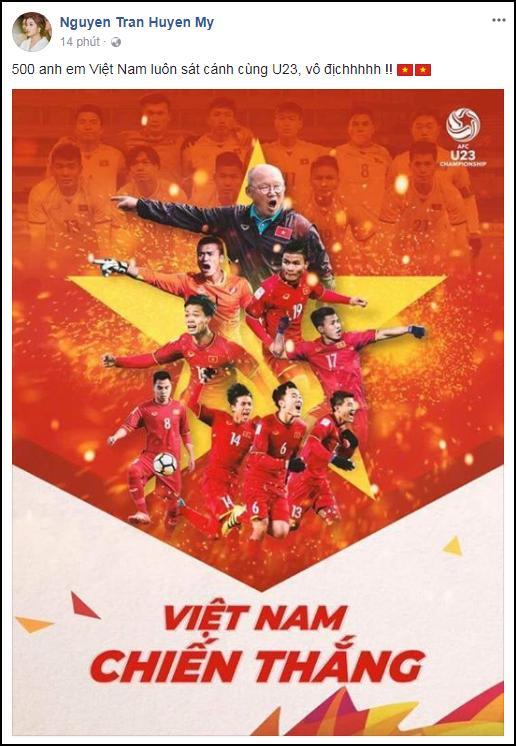 Từ buôn làng Ê Đê, hoa hậu HHen Niê gửi lời chúc chiến thắng tới U23 Việt Nam-2