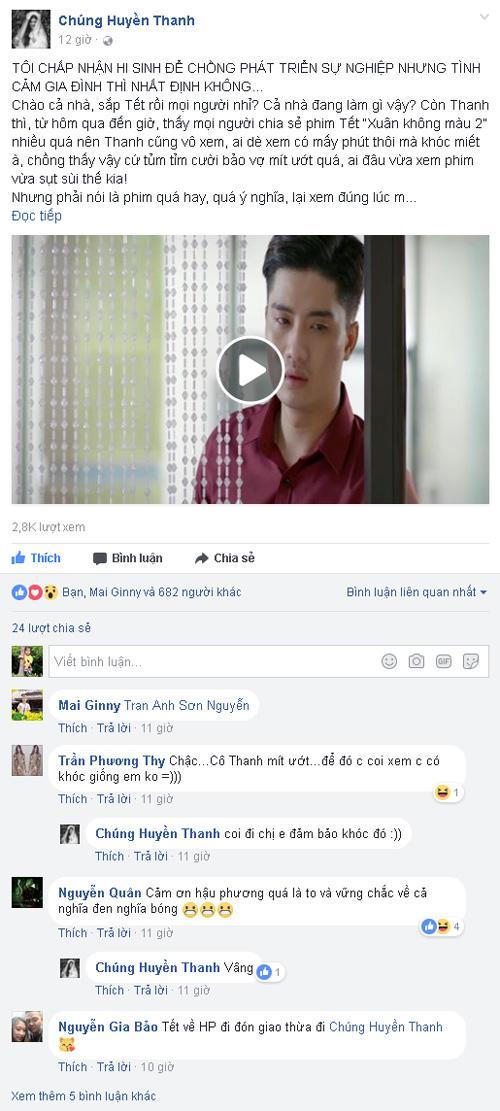 Sao Việt sụt sùi khi xem Xuân không màu 2-2