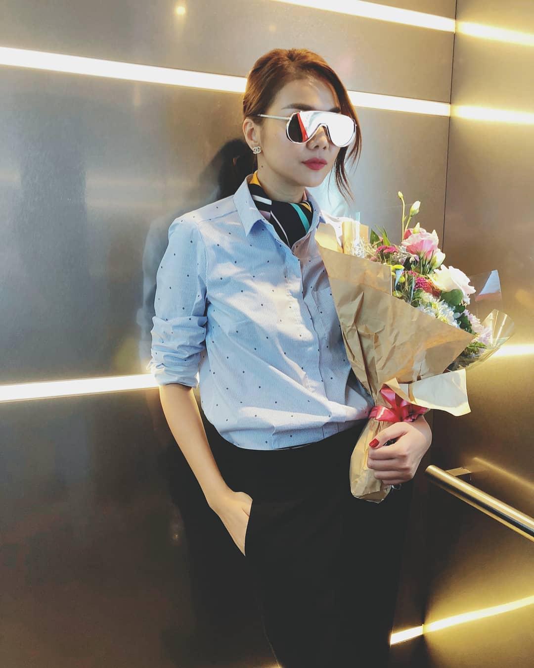 Tin sao Việt: Phạm Quỳnh Anh tự nhủ cố lên, bình yên sẽ đến-7