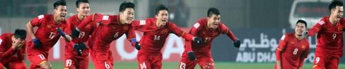 Chiến thắng U23 Việt Nam