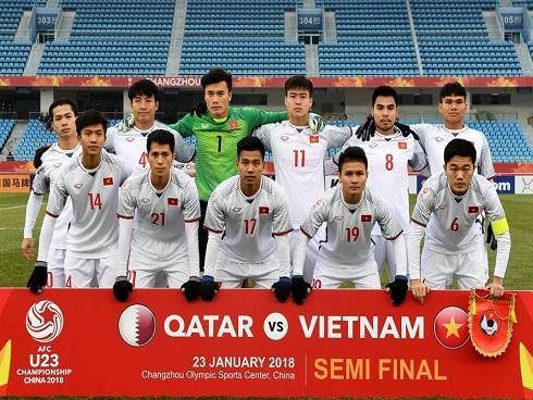 Vừa giành 1 vé vào chung kết, U23 Việt Nam đã được thưởng nóng 3,2 tỷ đồng-1