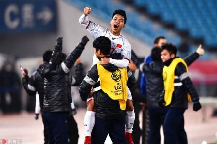Cư dân mạng Trung Quốc khen nức nở đội tuyển U23 Việt Nam: Kỳ tích, đội tuyển Việt Nam đã tạo kỳ tích rồi-4