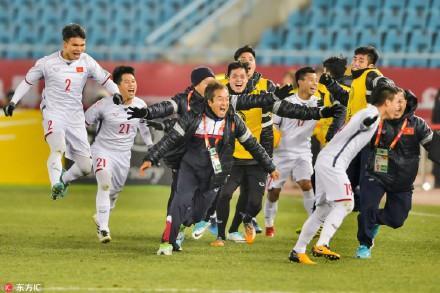 Cư dân mạng Trung Quốc khen nức nở đội tuyển U23 Việt Nam: Kỳ tích, đội tuyển Việt Nam đã tạo kỳ tích rồi-6