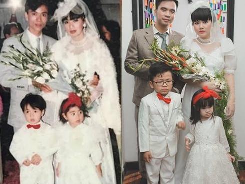 Sau 1 đêm U23 chiếm spotlight, đám cưới thời bố mẹ mình của cặp đôi Hà thành đã lên ngôi