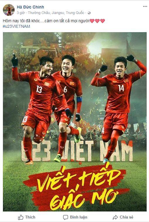 Hạ gục U23 Qatar, các anh hùng của U23 Việt Nam liên tục gửi lời cảm ơn người hâm mộ-2