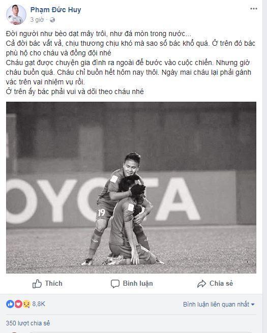 Hạ gục U23 Qatar, các anh hùng của U23 Việt Nam liên tục gửi lời cảm ơn người hâm mộ-3