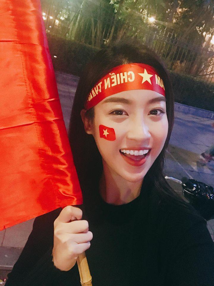 Ngó lơ dàn sao Việt hạng A, cô gái duy nhất được thủ môn Bùi Tiến Dũng thả thính thuộc về hoa hậu Đỗ Mỹ Linh-5