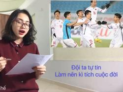 Nhạc chế 'Bao giờ lấy chồng' kể tường tận trận thắng của U23 Việt Nam