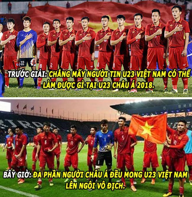 Ngả nghiêng với loạt ảnh chế về U23 Việt Nam-14