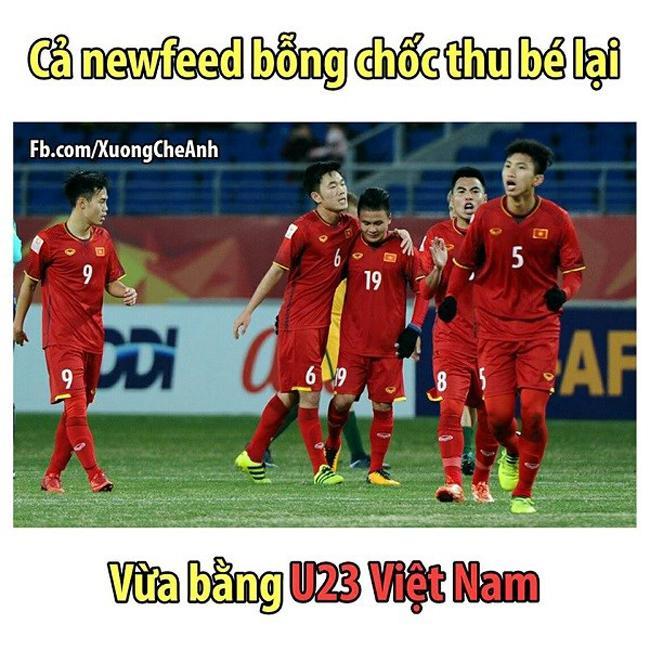 Ngả nghiêng với loạt ảnh chế về U23 Việt Nam-2