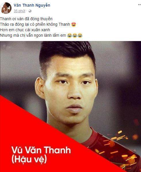 Khẳng định vẫn ngon lành, Vân Hugo muốn đóng thuyền với Văn Thanh U23 Việt Nam-2