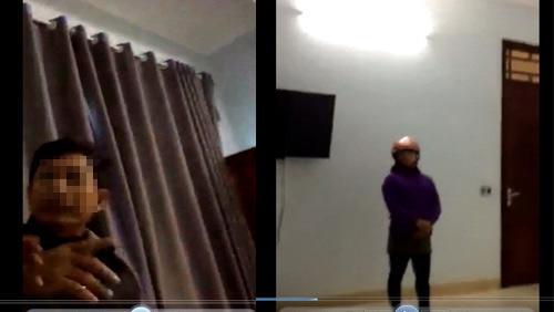 Thanh Hóa: Lộ clip nghi Chủ tịch xã vào nhà nghỉ với nữ cán bộ-1