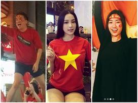 Street style sao Việt nhuốm màu cờ Tổ Quốc mừng chiến thắng tuyển U23 Việt Nam