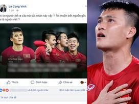 Vợ chồng Công Vinh - Thủy Tiên bức xúc vì bị vu khống coi thường U23 Việt nam