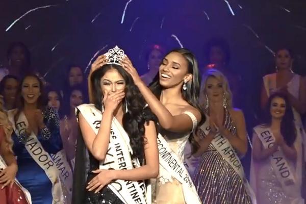 BẤT NGỜ: Hoa hậu Liên Lục Địa vừa đăng quang từng bị nhan sắc của Nguyễn Thị Thành thổi bay-1