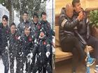 Thầy trò Park Hang Seo hân hoan đón tuyết tại Trung Quốc trước khi bước vào trận cuối kinh điển