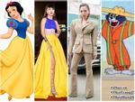 Angela Phương Trinh - Đỗ Mỹ Linh công phá thảm đỏ với sắc vàng rực rỡ nhất tuần qua-10