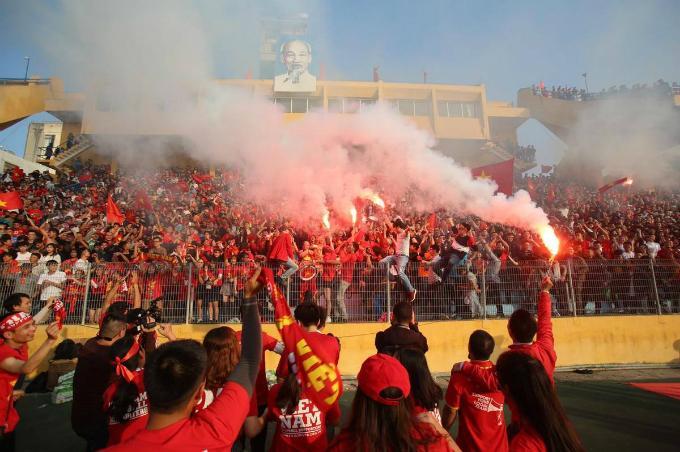 Gợi ý những điểm xem trực tiếp trận chung kết U23 ở Hà Nội và TP HCM-1