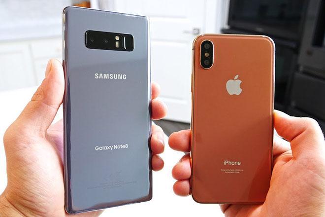 Giá trung bình smartphone tăng lên cũng chỉ vì… iPhone X và Galaxy Note 8-1