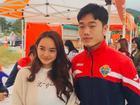 Không cần thả thính, Kaity Nguyễn có ảnh chụp cùng 'oppa mắt híp' Xuân Trường