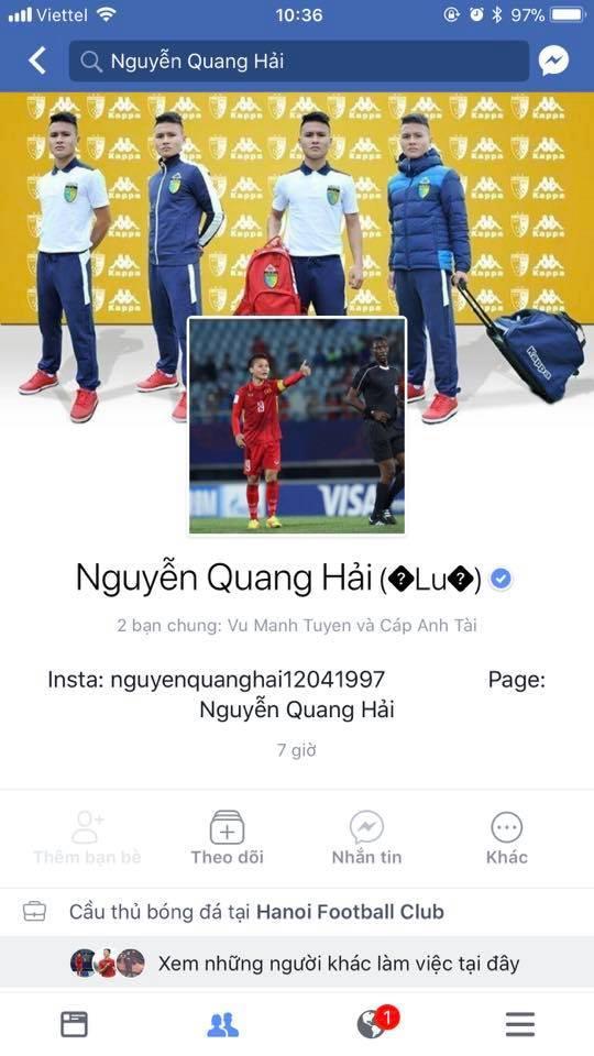 Liên tiếp xuất hiện Facebook giả mạo, dàn cầu thủ U23 Việt Nam phải nhờ Facebook cấp nút tích xanh-2
