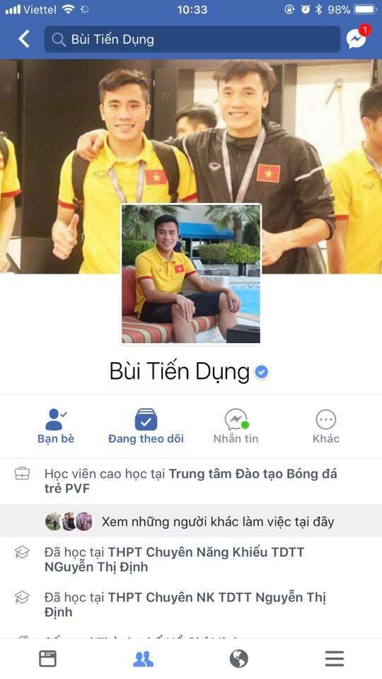 Liên tiếp xuất hiện Facebook giả mạo, dàn cầu thủ U23 Việt Nam phải nhờ Facebook cấp nút tích xanh-3