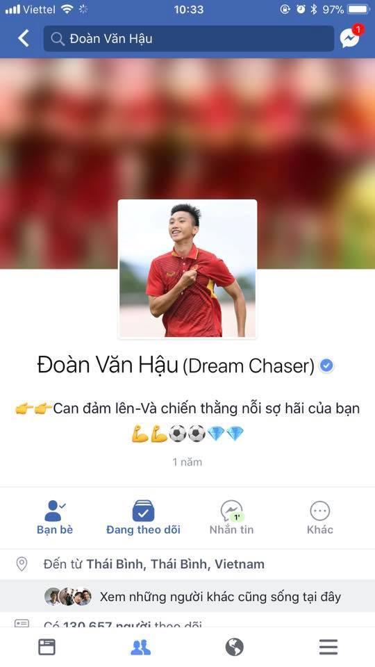 Liên tiếp xuất hiện Facebook giả mạo, dàn cầu thủ U23 Việt Nam phải nhờ Facebook cấp nút tích xanh-5