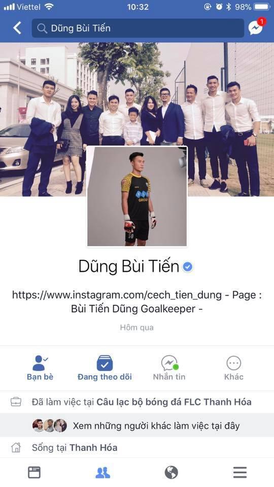 Liên tiếp xuất hiện Facebook giả mạo, dàn cầu thủ U23 Việt Nam phải nhờ Facebook cấp nút tích xanh-1