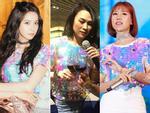 Mùng 3 Tết: Mỹ Tâm diện váy vàng nổi bật, đối lập dàn sao Việt mải mê với tông đen-15