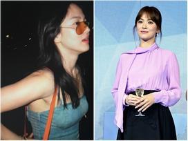 'Nghịch lý' Song Hye Kyo: Ăn vận kiểu cách thì 'sến' nhưng luộm thuộm chút lại chất đừng hỏi