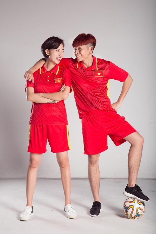Trước trận chung kết lịch sử, Ngô Thanh Vân và Jun Phạm tung clip cổ vũ U23 Việt Nam-5