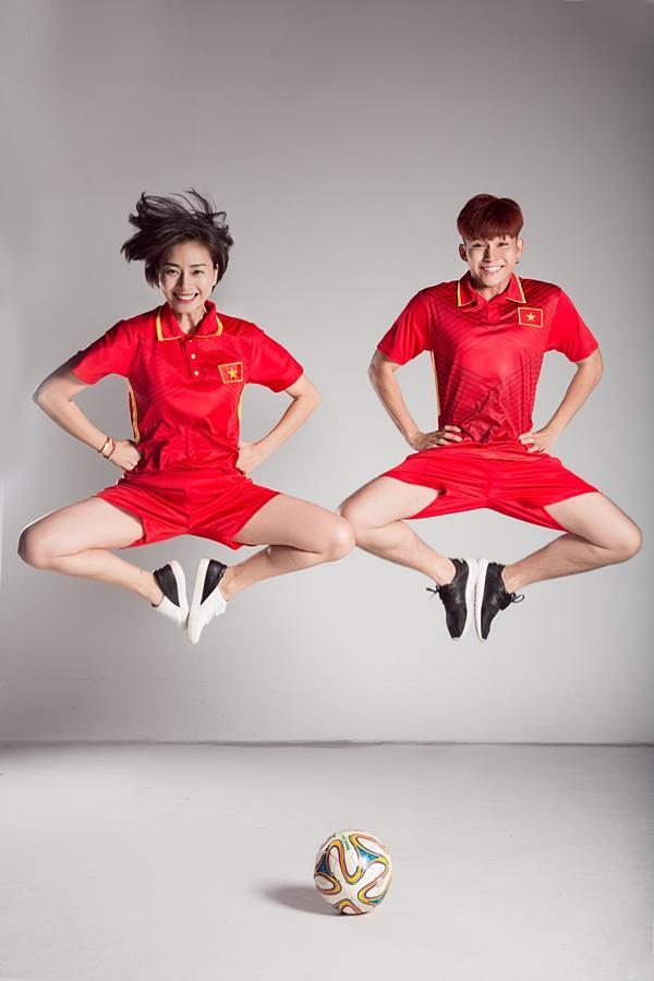 Trước trận chung kết lịch sử, Ngô Thanh Vân và Jun Phạm tung clip cổ vũ U23 Việt Nam-6