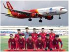 U23 Việt Nam được chào đón theo nghi thức cấp cao tại Nội Bài