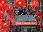 Vậy là sau 6 tiếng di chuyển, U23 Việt Nam cũng hoàn thành báo công với Chủ tịch Hồ Chí Minh